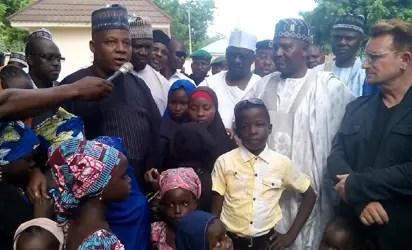 Dangote visits Borno IDPs - Vanguard News