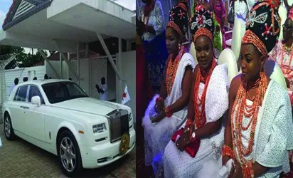 Oba of Benin's pretty wives and Rolls Royce - Vanguard News