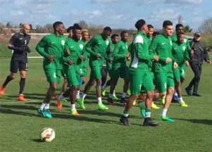 Nigeria, Liberia Int'l match