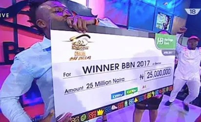 Image result for winner of big brother naija 2017