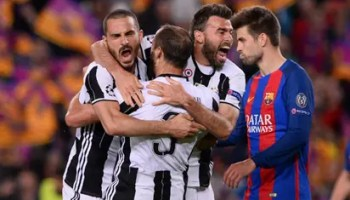 d742d21f94b No mercy for Messi as Juventus knock Barcelona out of Champions League