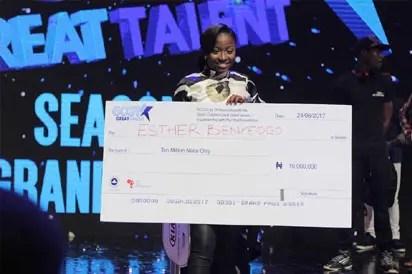 19-year-old Esther Benyeogo wins N250m GCGT7 prize - Vanguard News