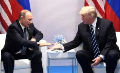 Russia and US war simulation