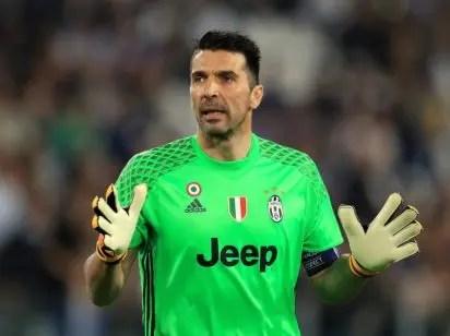 d4629e0c555 Buffon stuns fan by throwing him his shorts - Vanguard News