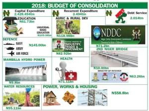 Bihari cuts deficit, presents N8.6trn budget 2018