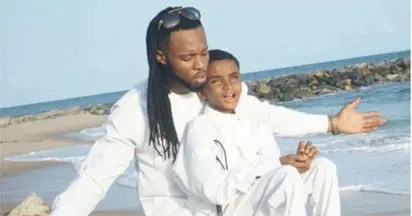 Video: Blind boy helped by Flavour performs in a classroom