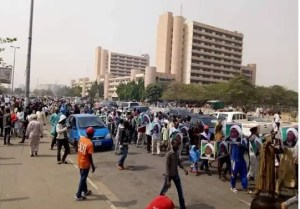 Police fire tear-gas to disperse Shiite protesters in Abuja