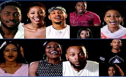 Big Brother Naija housemates