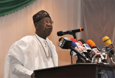 Lai Mohammed reiterates FG's commitment to lift 100 million Nigerians out of poverty