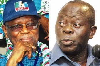 Oshiomhole a disgrace to APC, Edo state - Oyegun - Vanguard