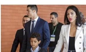 Cristiano Ronaldo and his family