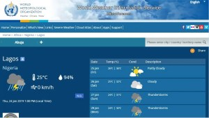 NiMet predicts thunderstorms, rains for Sunday