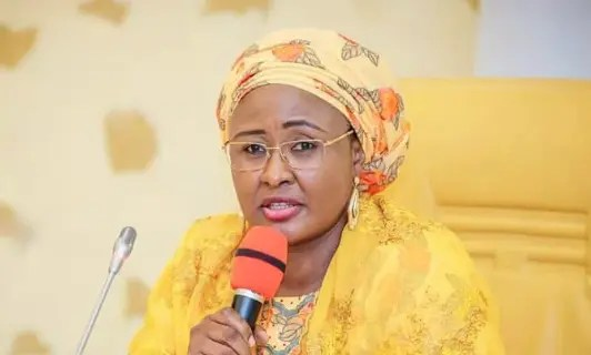 Aisha Buhari wants to be addressed as 'First Lady'