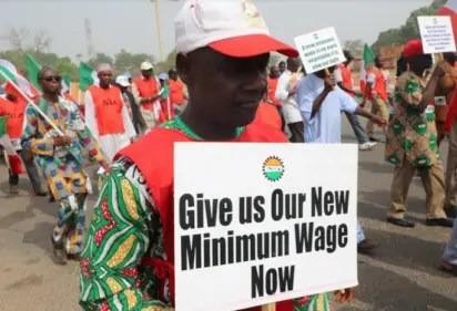 Minimum Wage, Buhari, Labour