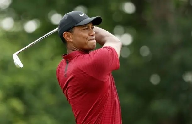british open  father time takes hold on tame tiger woods