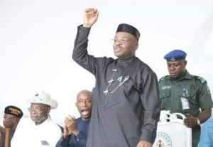 Breaking: Gov Emmanuel defeats Ekere at  A-Ibom guber tribunal