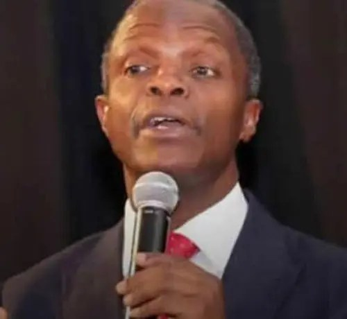 Nigeria cannot deal with only one country — Osinbajo