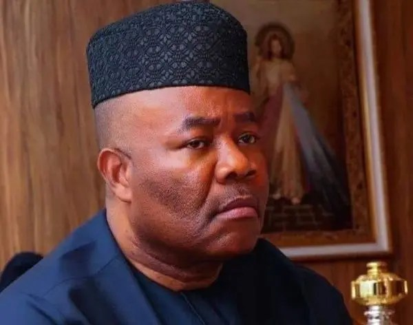 Akpabio in Port Harcourt, dishes orders to NDDC management
