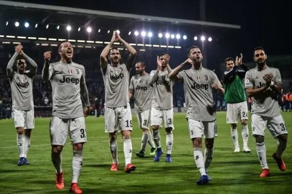 Juventus stay top, maintain winning routine against Torino