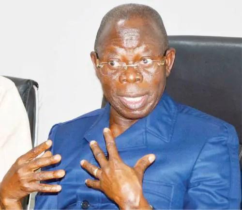 Oshiomhole,Nwokobia, Nass Leadership
