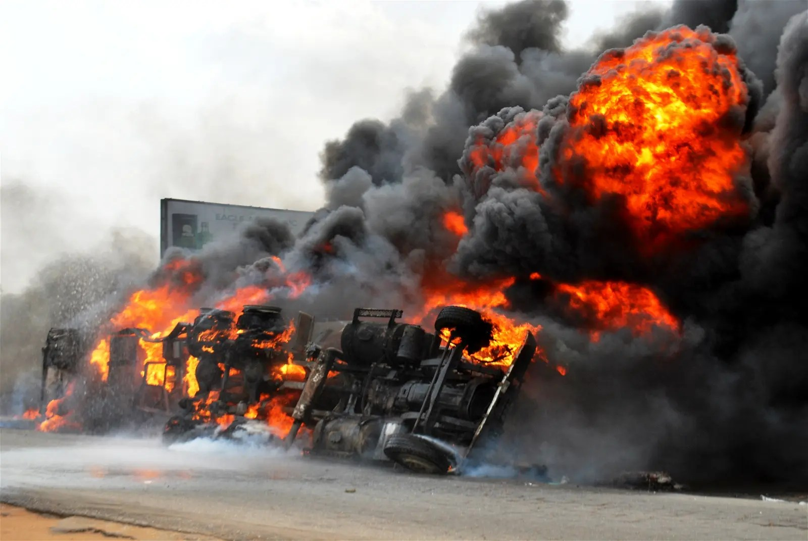 At Least 30 Feared Killed In Benue Petrol Tanker Accident