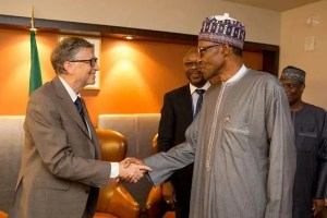 Buhari, Bill Gates