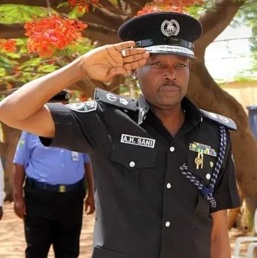 Image result for Bauchi State Commissioner of Police Habu Sani