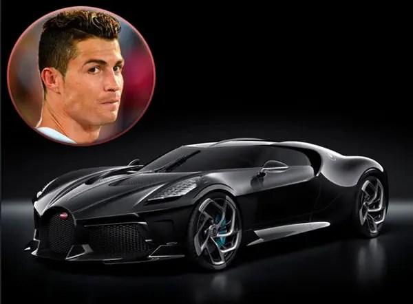Cristiano Ronaldo, Bugatti La Voiture Noire