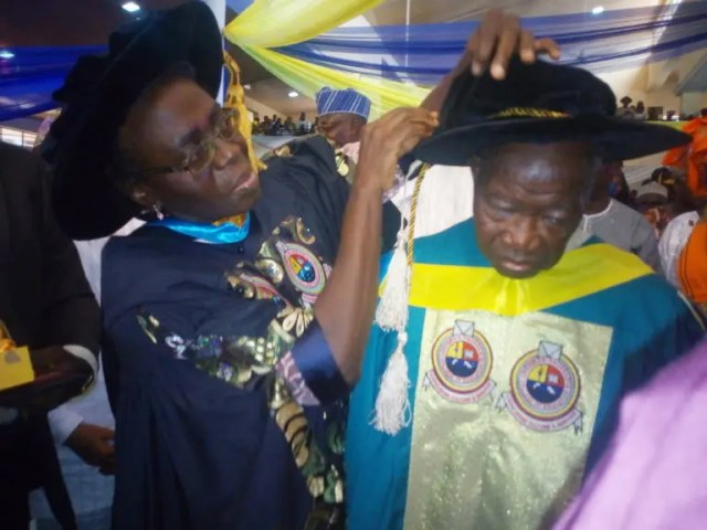 Jakande bags Fellowship award at AOCOED joint convocation