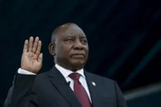 Ramaphosa, South Africa, IPOB