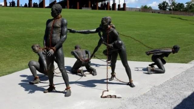 Slave trade, Slave Camp, Slave