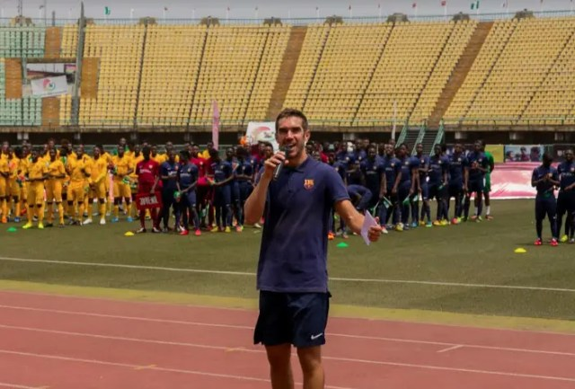 Barça academy; Grooming future football stars from Nigeria