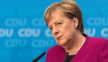 Germany's Merkel gives support for talks with Taliban
