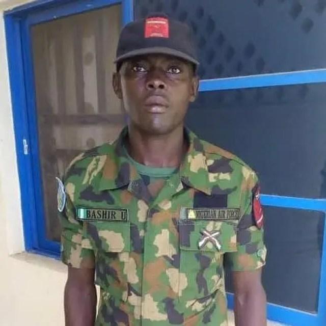 Bashir Umar NAF Nigerian Air Force