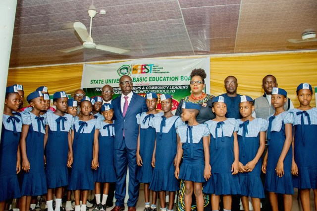 Obaseki vows to reclaim school lands  Obaseki to extend feeding programme to more pupils