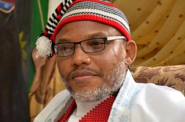 'Nnamdi Kanu has never killed anyone, he is not a terrorist, permit him to bury his mother'
