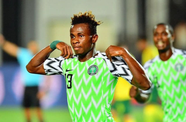 Samuel Chukwueze  Afcon: I couldn't imagine myself scoring #Nigeria Screen Shot 2019 07 11 at 12