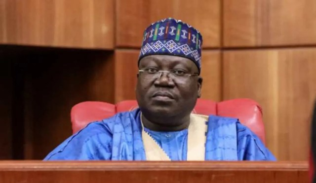 President of the Senate, Sen. Ahmad Lawan