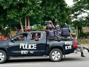 Police, IMN, Abuja