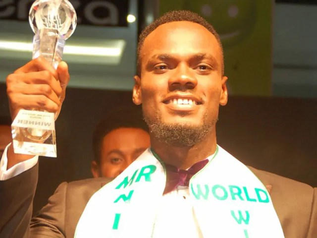 I need Nigerians' support to win Mr World beauty pageant