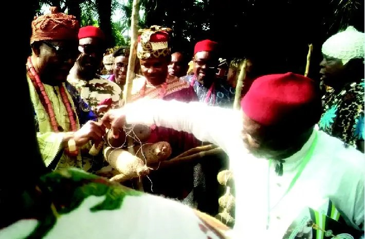 Owerri-West's Igbatu Oba Ji yam festival draws dignitaries, tourists - Vanguard