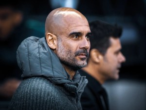 Guardiola, Man City, hat-trick