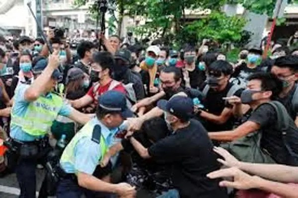 Hong Kong protesters flood city streets for largest rally in weeks - Vanguard News