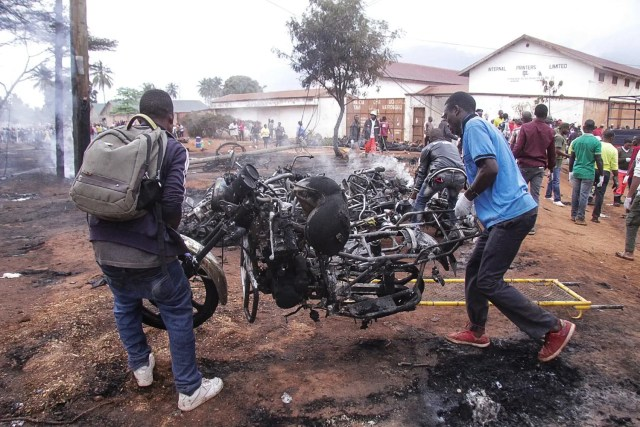 TANZANIA-explosion