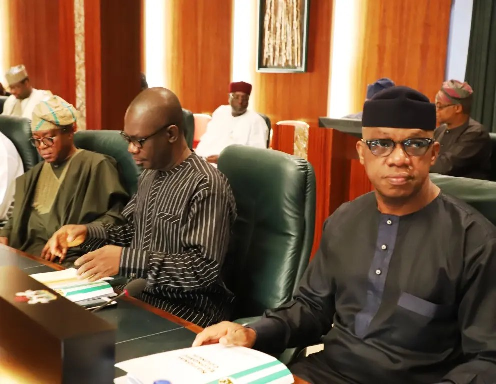 PHOTOS: Osinbajo presides over first NEC meeting after inauguration of ministers