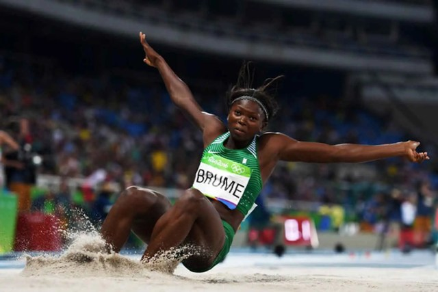 African Games: I'm not under pressure to break Ajunwa's #Nigeria Ese Brume