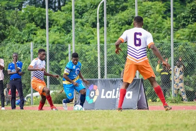 Image result for LaLiga signs partnership with Higher Institutions Football League
