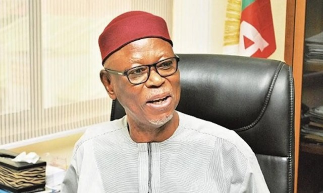 Oyegun, Oyegun's birthday reception, journalists, birthday, LG boss