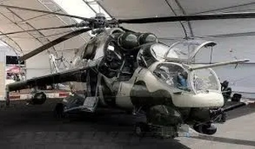 NAF inducts another helicopter reactivated locally in Port Harcourt