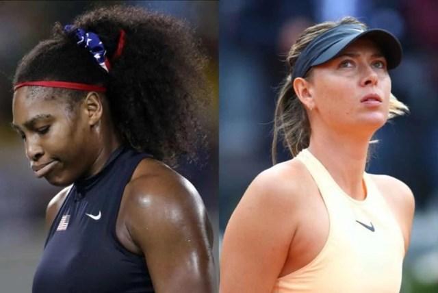 US Open, Serena, Sharapova